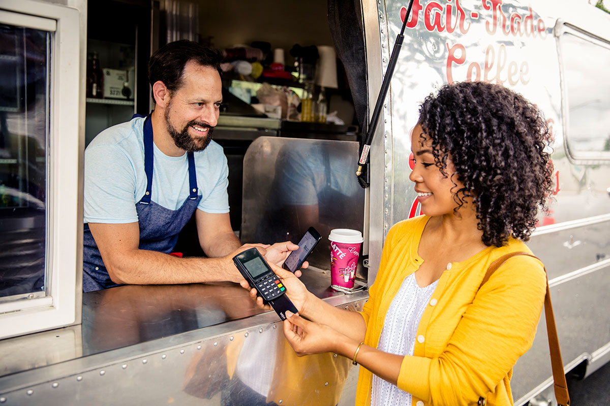 Food Truck Transaction - Restaurants on-the-go with Converge Mobile